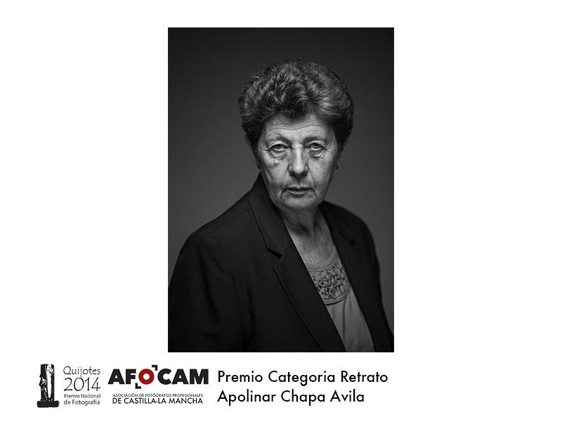 Premio Categoría Retrato - Apolinar Chapa Ávila